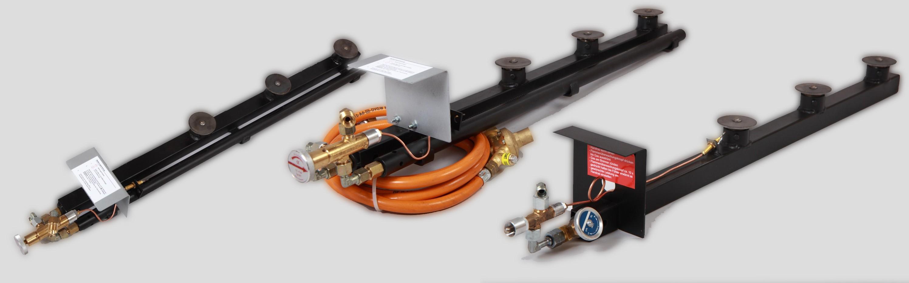 Gasbrenner für verschiedene Einsatzgebiete